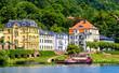 Leinwandbild Motiv old town of heidelberg in germany