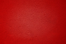 Cement Red Plaster Walls Have ...