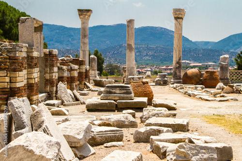 Fotobehang Cyprus St. Jean Church, Ayasuluk Citadel, Izmir, Turkey