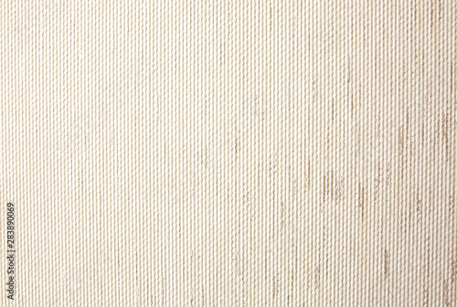 Beige textured background. Wallpaper idea. - 283890069