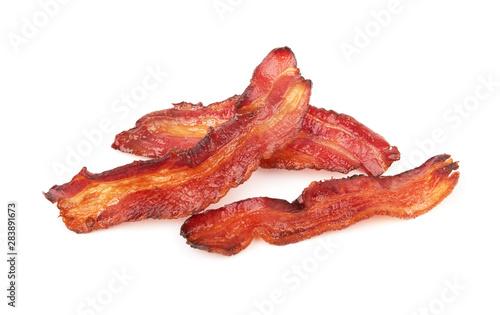 Fotografie, Obraz cooked slices of bacon