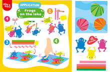 Application Frogs On Lake Game...