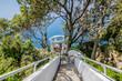 Die berühmte Villa Lysis in Capri, Italien