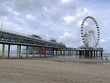 Pier and promenade Scheveningen The Hague Netherlands