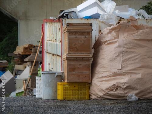 Fotomural 産業廃棄物置き場