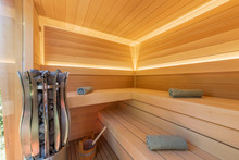 Sauna Room Interior