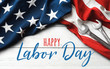 canvas print picture Happy Labor Day