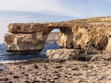 Famous Azure Window Of Gozo Ma...