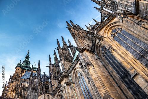 Fotografía  St. Vitus Cathedral in Prague Castle. Prague, Czech Republic.