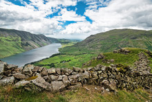 Wast Water Viewed From The Slo...