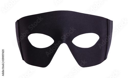 Fotografia Black Fabric Mask