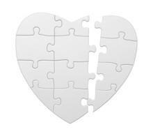 Broken Puzzle Heart