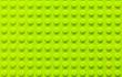 Leinwandbild Motiv Green Plastic Building Block Base