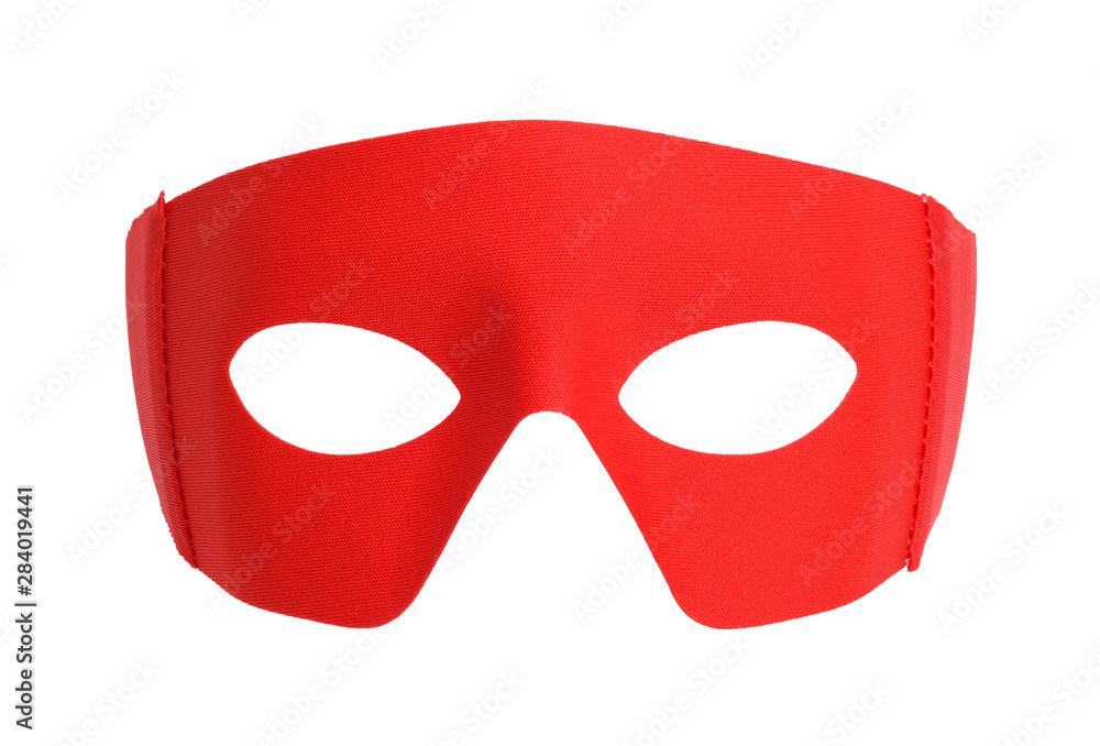 Fototapeta Red Fabric Mask
