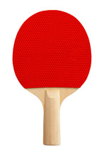 Red Ping Pong Paddle Cut Out