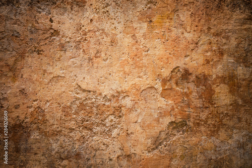 grunge wall, highly detailed textured background - 284026049