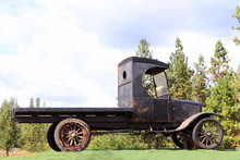 A Vintage 1929 Model T Truck