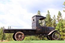 A Vintage 1929 Model T Truck