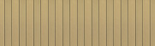 Top View Of WPC In Teak Tree Color. WPC: Wood-Plastic Composites Are Wood Fiber And Thermoplastic Such As PE, PP, PVC, Or PLA. A WPC Decking Are Stylish And Enrich The Outdoor Living
