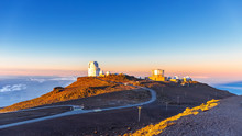 Observatory At Haleakala Maui Hawaii