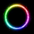 Rainbow circle (line)
