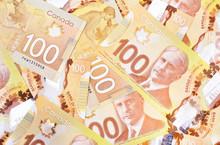 Canadian $100 Dollar Banknotes...