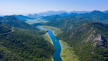 Panormic View Of Lake Skadar I...