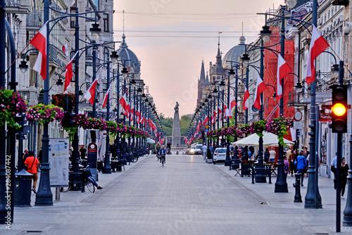 Fototapeta   Piotrkowska, Łódź obraz