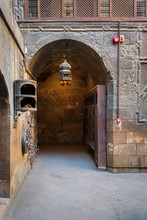 Entrance To Courtyard Of Gayer Anderson Historic House, Adjacent To Mosque Of Ahmad Ibn Tulun, Cairo, Egypt