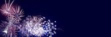 Fireworks Background For Anniv...