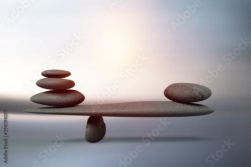 Balance. Fototapet