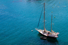 Two-masted Sailing Yacht Ancho...