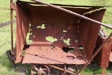 Rusted Mine Cart
