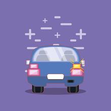 Drive Safely Design Vector Ilustration