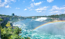 Niagara Falls On Summer Day