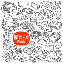 Indonesian Foods And Snack Bla...