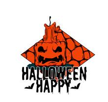 Happy Halloween Ice Cream Cone...
