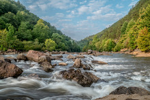 Whitewater View Of The Ocoee River, Tennessee