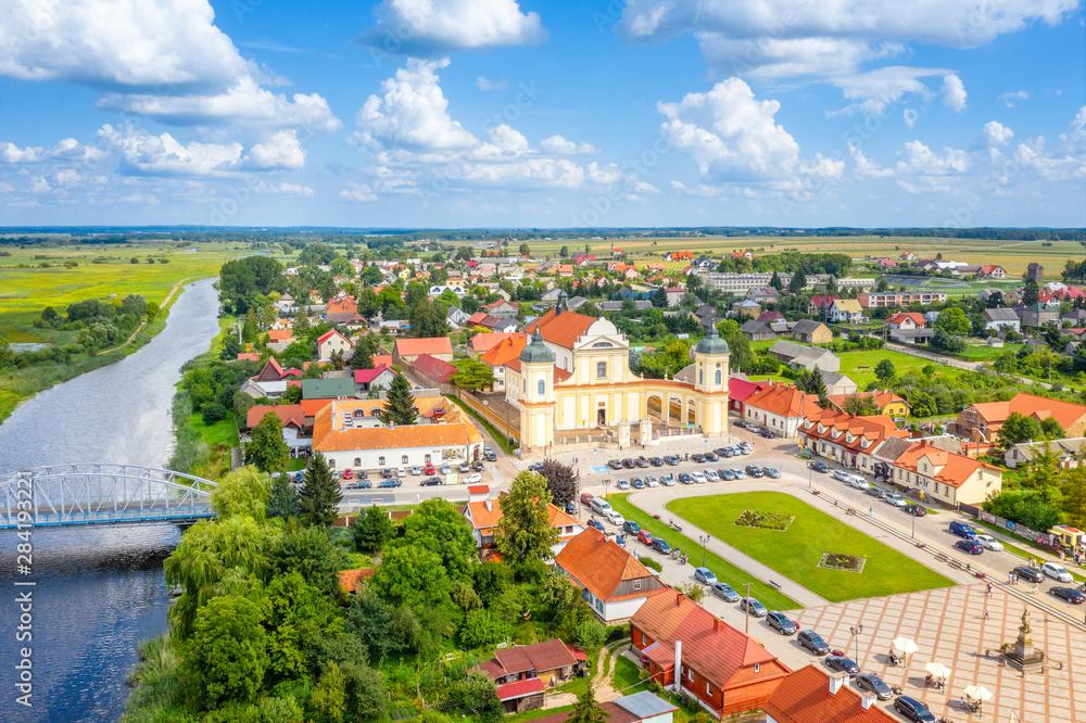 Fototapeta Miasteczko Tykocin, Podlasie, Polska - obraz na płótnie