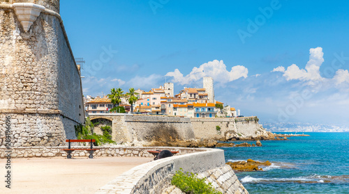 Historic center of Antibes, French Riviera Wallpaper Mural