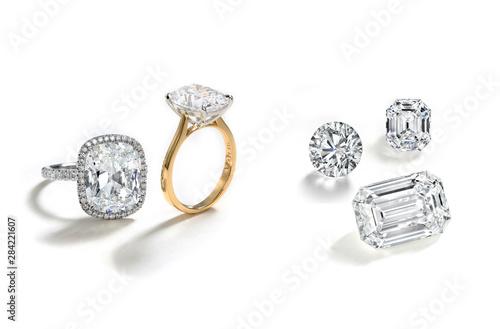 Fényképezés Diamond Rings and Loose Diamonds