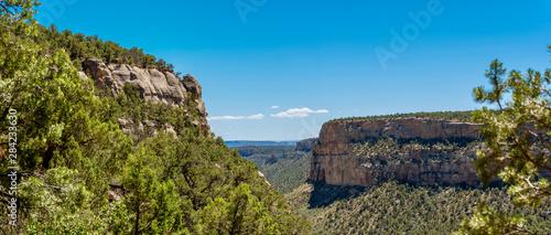 Colorado Panorama Mesa Verda National Park