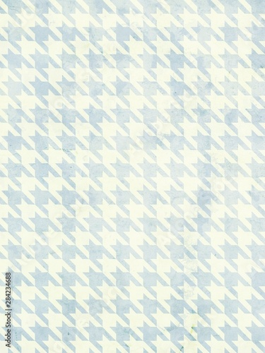 Photo  Vintage Houndstooth Texture.