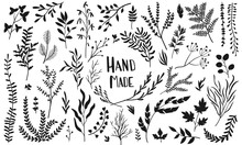 Set-hand-made-vector