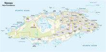 Map Of Nassau Capital Of The B...