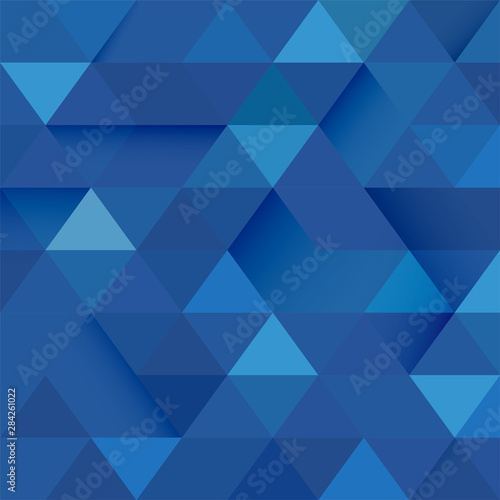 Fotografía  Abstract blue tone geometric layout template and modern overlapping