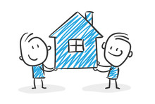 Stickman Blue: House, Housekee...