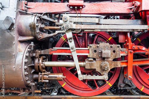 Fotomural  Alte Dampflok der Deutschen Reichsbahn