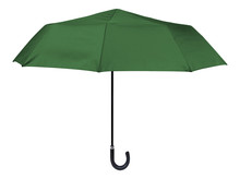 Classic Green Umbrella Isolated On White
