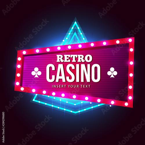 Photo  Sign Board casino